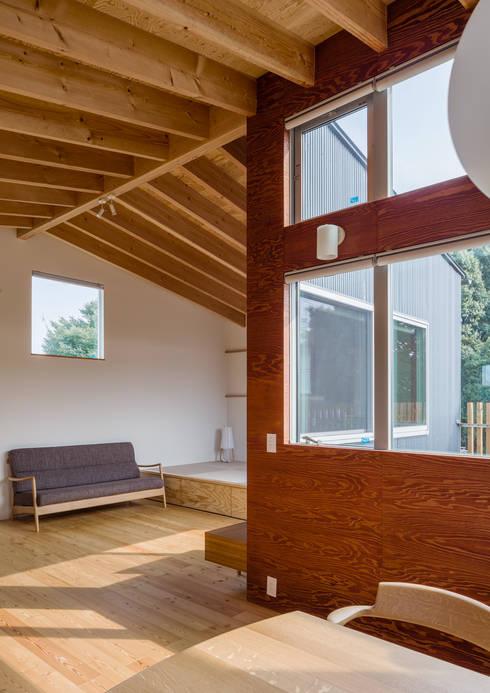 萩原健治建築研究所의  거실