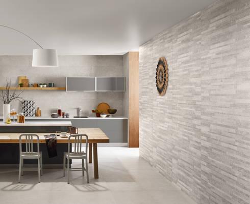NEST: Cozinhas industriais por Love Tiles