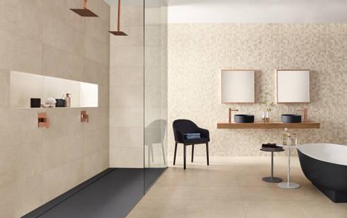 NEST: Casas de banho industriais por Love Tiles
