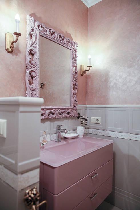 Projekty,  Łazienka zaprojektowane przez Designer Olga Aysina