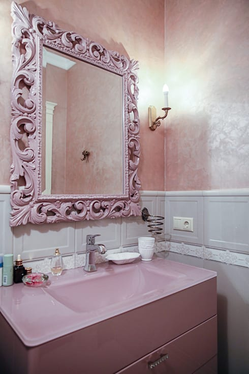 Bathroom by Designer Olga Aysina