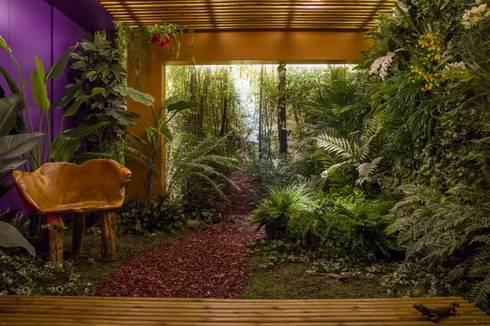 Jardins Permanentes: Jardins de inverno campestres por Junia Lobo Paisagismo