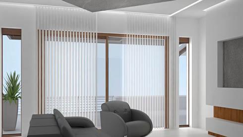 CASA SAAVEDRA: Salas de estilo moderno por Design Arquitectos