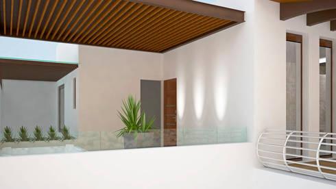 CASA SAAVEDRA: Baños de estilo  por Design Arquitectos