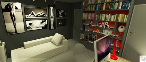 O consultório da sexóloga:   por Rangel & Bonicelli Design de Interiores Bioenergético