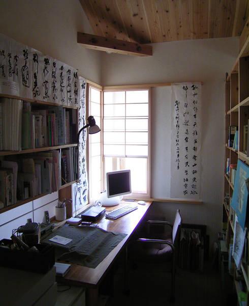 書斎: 計画工房 辿が手掛けた書斎です。