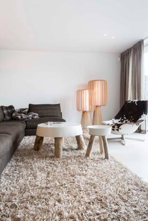 Woonruimte: moderne Woonkamer door Smeele   ontwerpt & realiseert