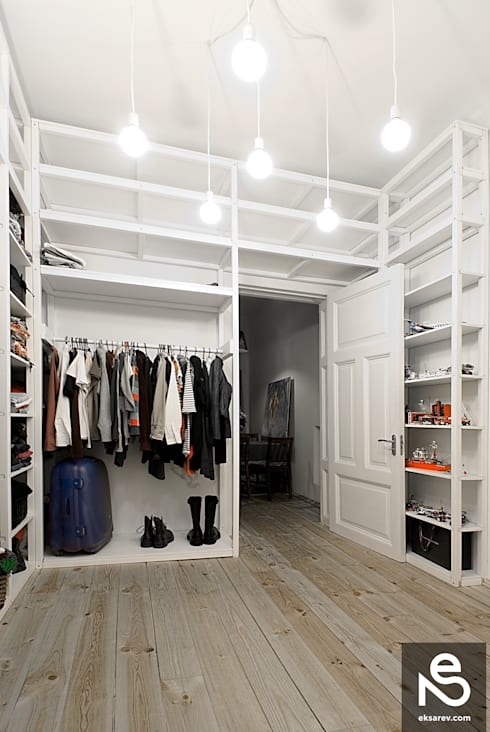 modern Dressing room by Studio Eksarev & Nagornaya