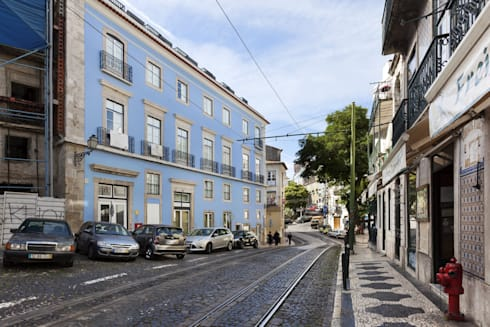 Hello Lisbon Castelo:   por Andre Espinho Arquitectura