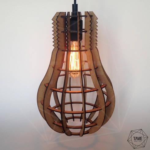Foco Lamp Natural: Hogar de estilo  por Taller Veinte