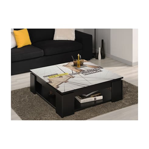 table basse imprim e brooklyn par lastmeubles homify. Black Bedroom Furniture Sets. Home Design Ideas