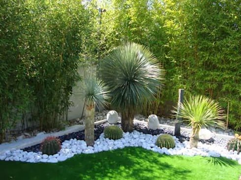 JARDINES: Jardines de estilo minimalista por FERNANDA GASTELUM