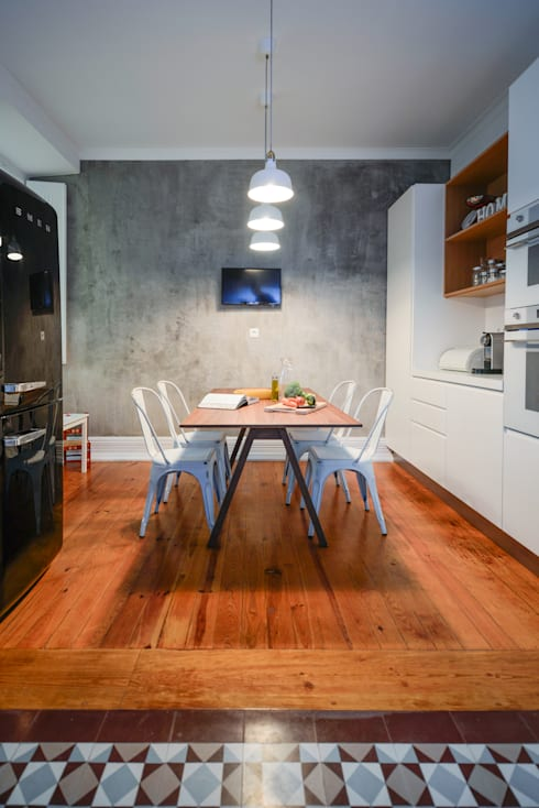 industrial Kitchen by LAVRADIO DESIGN