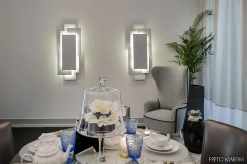 Timeless City: Salas de jantar modernas por Preto Marfim