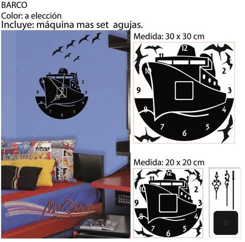 BARCO: Dormitorios infantiles  de estilo  por MikDeko