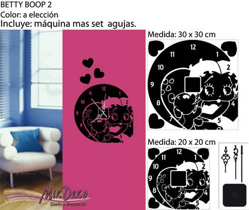 BETTY BOOP 2: Livings de estilo moderno por MikDeko
