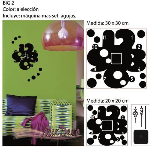 BIG 2: Livings de estilo moderno por MikDeko