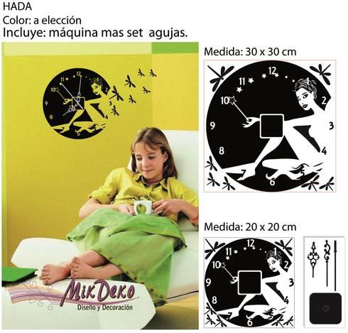 HADA: Dormitorios de estilo moderno por MikDeko