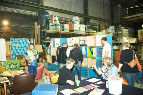 Workshop und Dauerausstellung in der  Upcyclingbörse Hannover 2015:  Geschäftsräume & Stores von Bauteilbörse Hannover