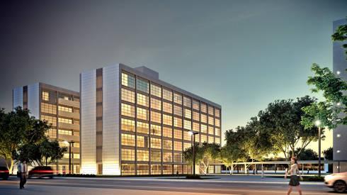 SEAD-PB: Casas modernas por Martins Lucena Arquitetos