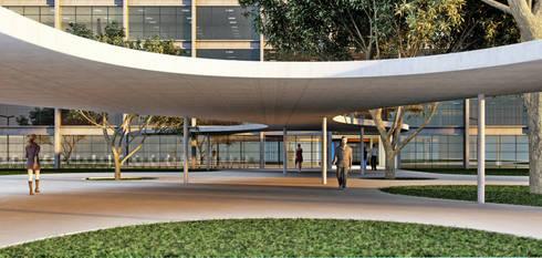 SEAD-PB: Corredores e halls de entrada  por Martins Lucena Arquitetos