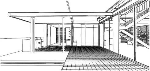 Casa IF:   por Martins Lucena Arquitetos