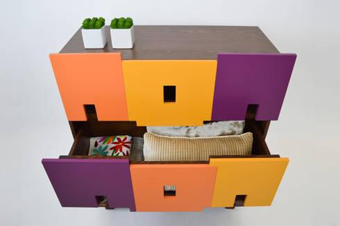 GUARDAJUATO by APOTEMA: Recámaras de estilo moderno por APOTEMA Estudio de Diseño