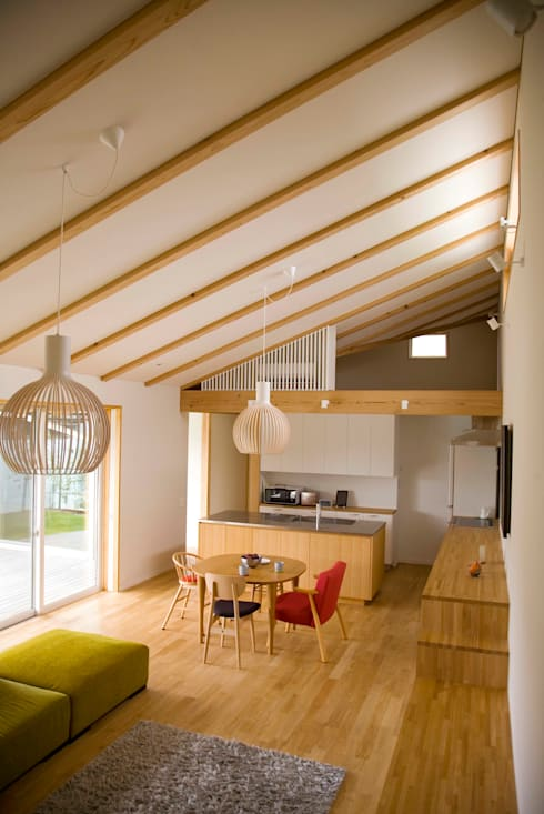木名瀬佳世建築研究室의  다이닝 룸