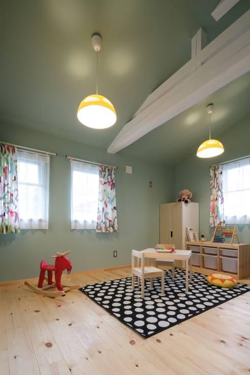 M's HOUSE: dwarfが手掛けた子供部屋です。