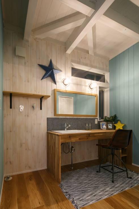 H's HOUSE: dwarfが手掛けた浴室です。