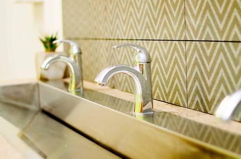 En el entorno: Baños de estilo  por Pitaya