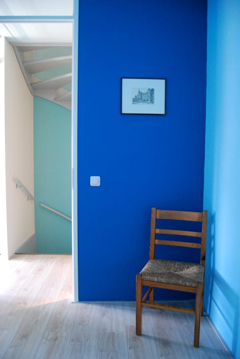 Woonhuis Huis ter Heide: moderne Studeerkamer/kantoor door CG Interior Architecture