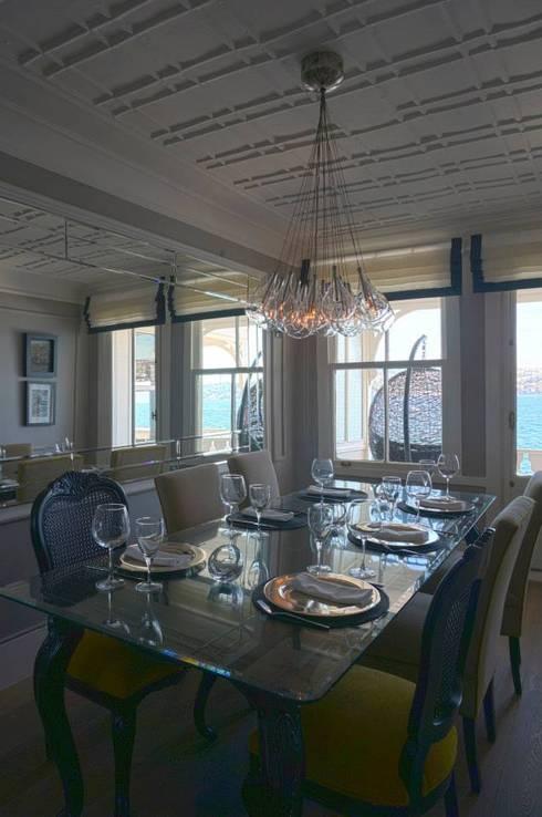 Bozantı Mimarlık – Gazebo Restaurant Yeniköy: modern tarz Yemek Odası