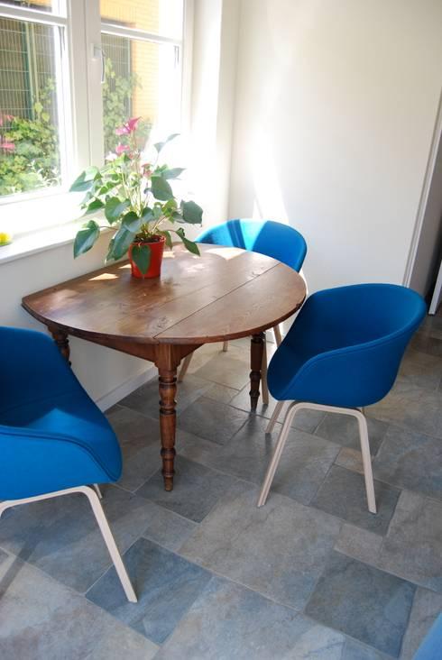 Woonhuis Huis ter Heide: moderne Eetkamer door CG Interior Architecture