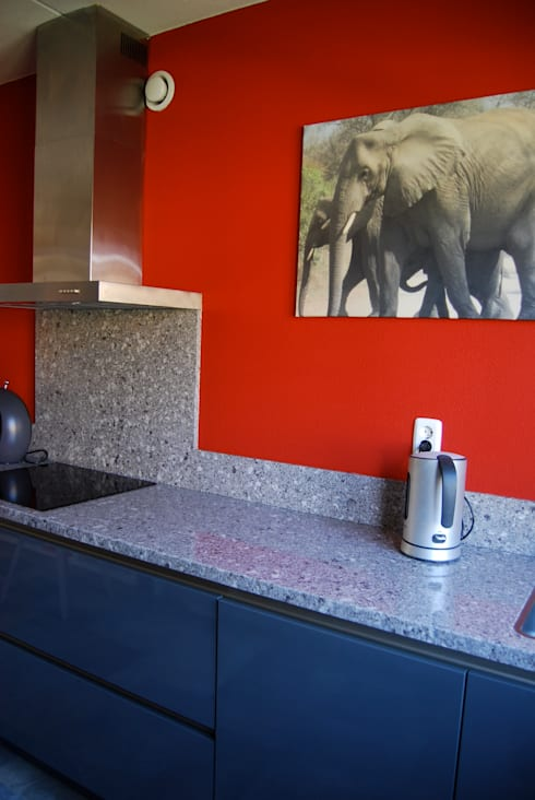 Woonhuis Huis ter Heide: moderne Keuken door CG Interior Architecture