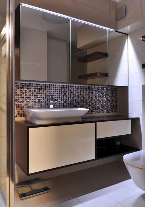 Casas de banho modernas por Katarzyna Wnęk
