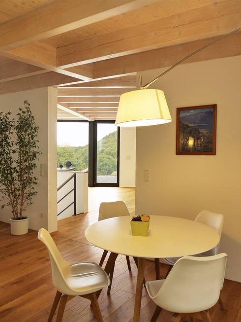 Comedores de estilo moderno por K2 Architekten GbR