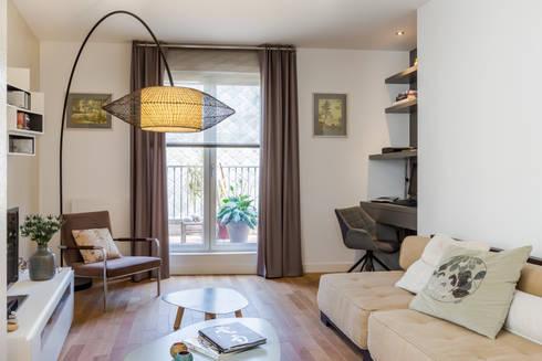 d coration d 39 un appartement neuf dans le programme cheverus bordeaux par expression. Black Bedroom Furniture Sets. Home Design Ideas