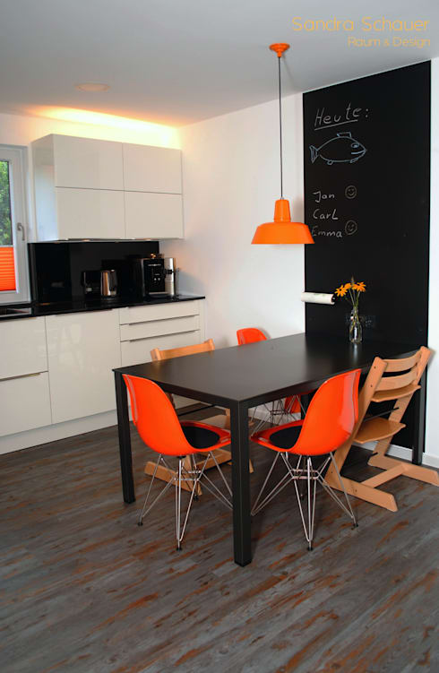 Projekty,  Kuchnia zaprojektowane przez Sandra Schauer Interior Design