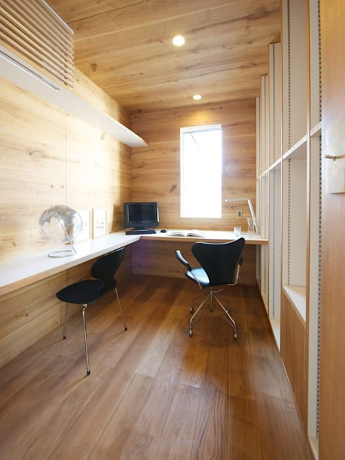 Study/office by Mimasis Design/ミメイシス デザイン