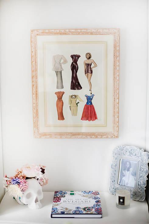 Vestidores y closets de estilo  por Vintage Hunter by Daniel GC
