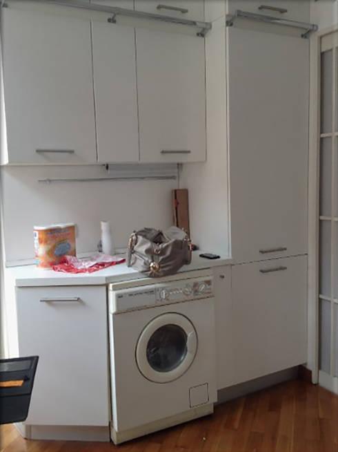 prima- lavatrice-frigo: Cucina in stile  di My Home Attitude - Barbara Sala