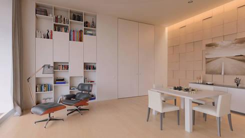 Interior | Living Room: Salas de estar modernas por Creative Architecture Visualization