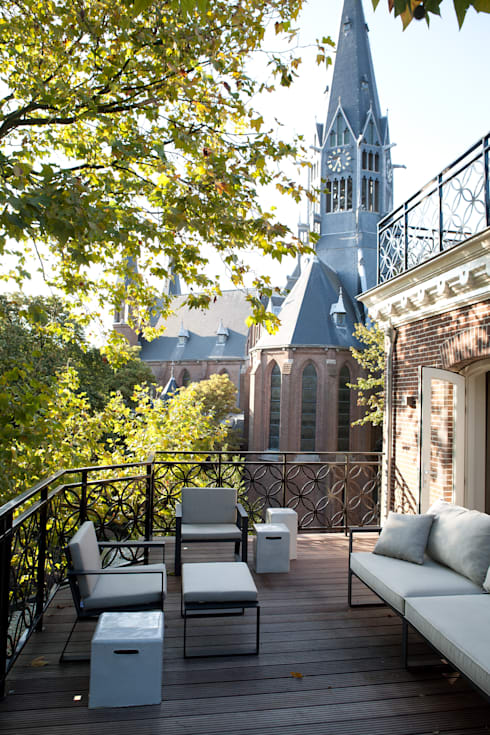 ''Wonen op het mooiste plekje in Amsterdam'':  Terras door meesderwerk