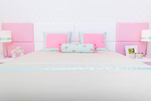 Quarto da Beatriz: Quartos de criança ecléticos por Ângela Pinheiro Home Design