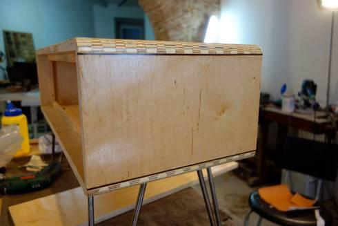 """Construction de la """"boite"""":   por Atelier São Vicente"""
