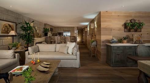 Departamento Goldsmith: Comedores de estilo mediterraneo por JR Arquitectos