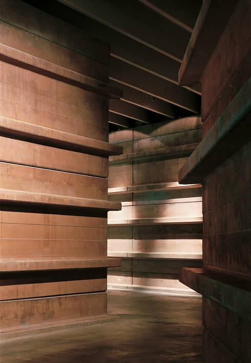 Pasillos y vestíbulos de estilo  por Ignacio Quemada Arquitectos