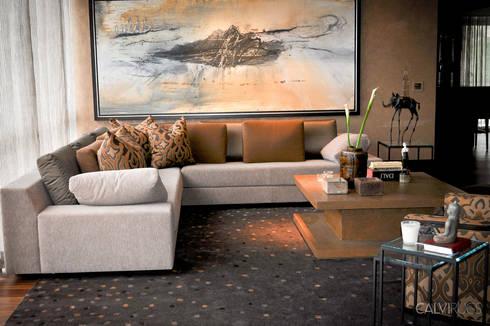 Lluvia: Salas de estilo moderno por Calvirugs