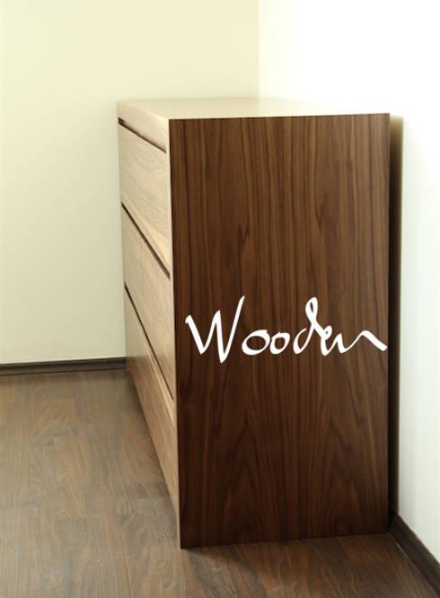 Muebles y espacios: Jardín de estilo  por Wooden
